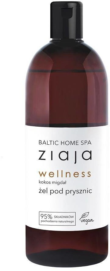 Ziaja Baltic Home Spa Wellness żel pod prysznic Kokos Migdał 500ml 96907-uniw
