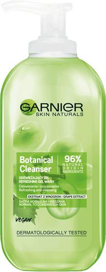 Garnier Garnier Botanical Odświeżający żel do twarzy z ekstraktem z winogron 200ml