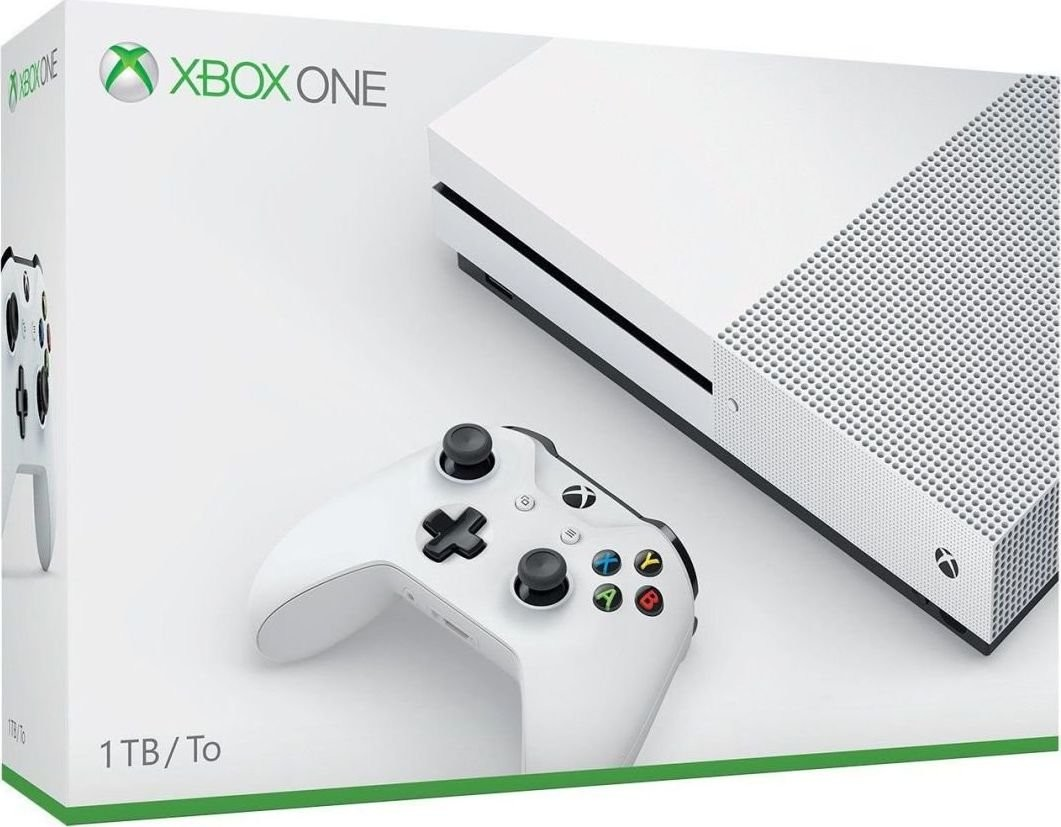 Microsoft Xbox One S 1 TB + Sea of Thieves + XBL