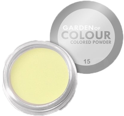 Vanity akryl kolorowy the garden of colour nr 15 wanilia 4g 7255