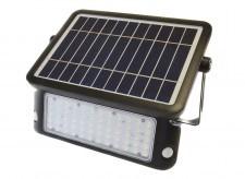 Led line Halogen, naświetlacz LED SOLARNY LEDline 10W biały dzienny z czujnikiem ruchu 248993