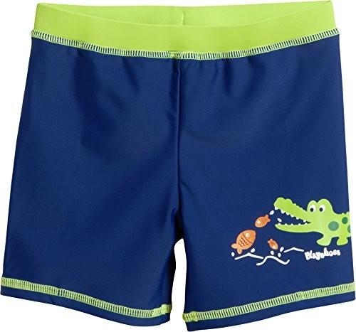 Playshoes chłopcy strój kąpielowy ochrony przed promieniami UV Short krokodyl - 98 (rozmiar producenta: 98/104) 461165-11