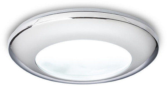 top Redlux Lampa do zabudowania K/G ACUA chrom 12V GU5,3 50W IP44 R10406/12 R10406/12