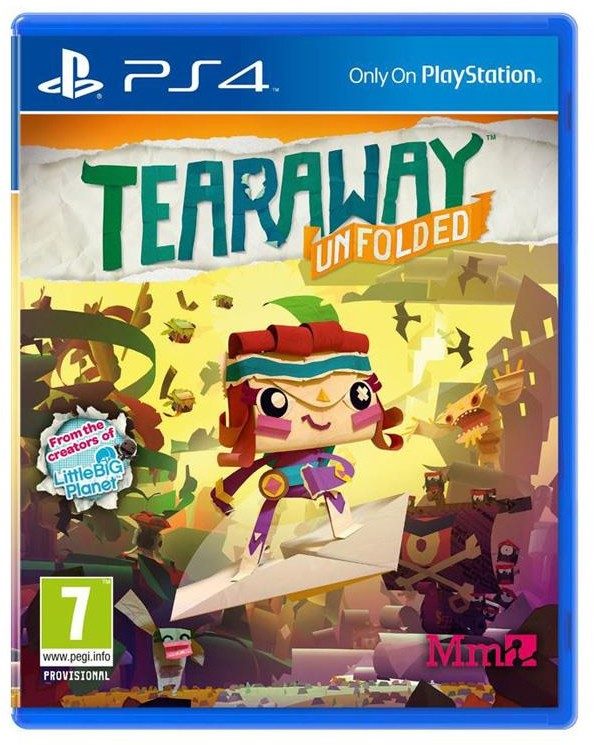 Tearaway Unfolded (GRA PS4)
