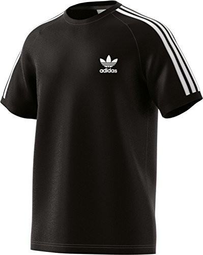 Adidas męski 3-Stripes T-Shirt, czarny, xxl CW1202