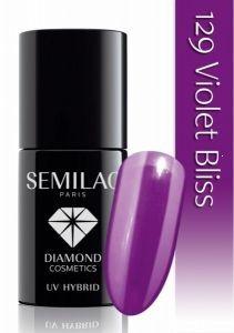 Semilac UV Hybrid lakier hybrydowy 129 Violet Bliss 7ml