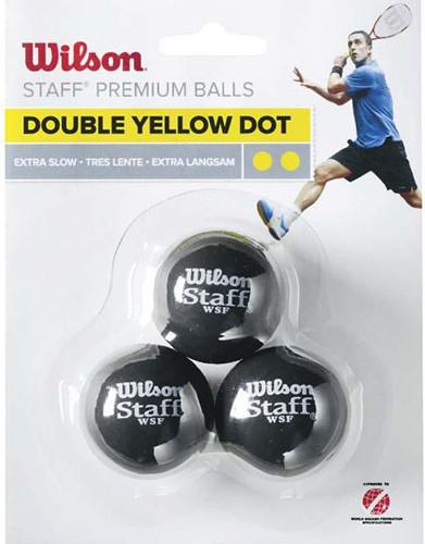 Wilson 3-Ball 2 kropki żółte WRT618100