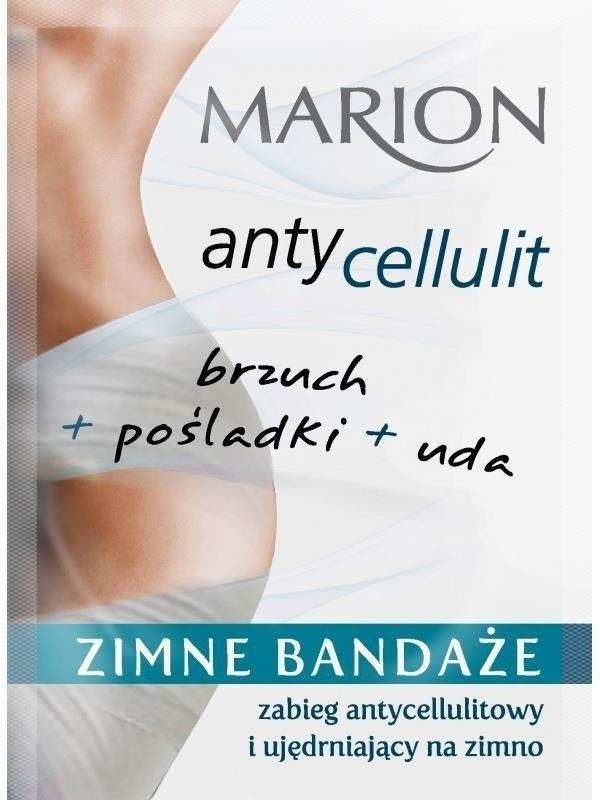 Marion Antycellulit Zimne Bandaże 2x50ml 84710-uniw