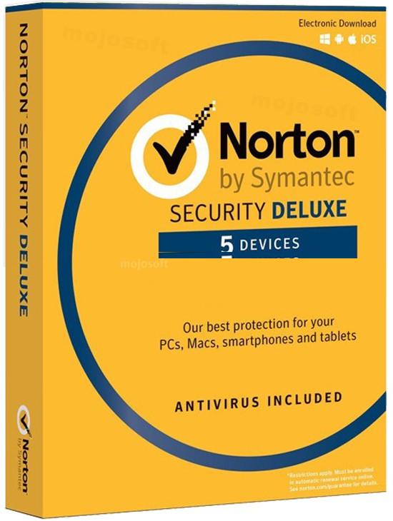 Symantec Norton Security Deluxe 5PC / 1Rok (*21357600)