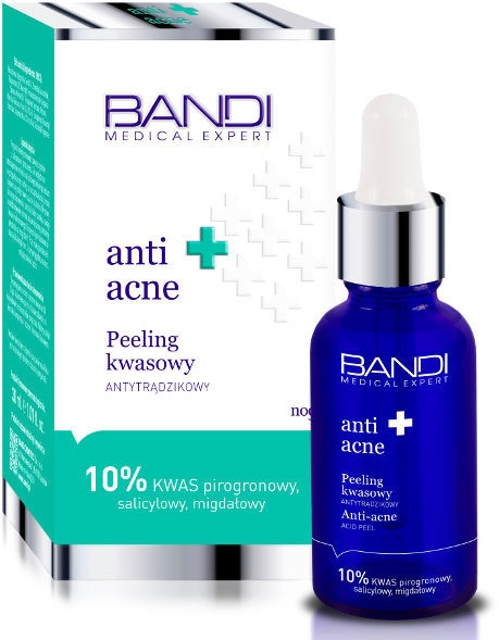 Bandi Medical Expert Anti Acne, peeling kwasowy antytrądzikowy, 30 ml