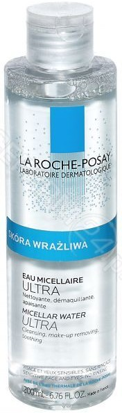 La Roche-Posay La Roche-Posay ultra woda micelarna do skóry wrażliwej 200 ml
