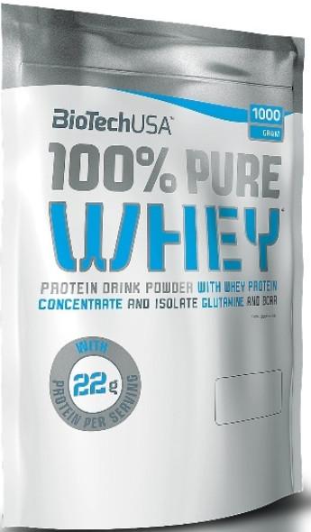 BioTech 100% Pure WHEY 454g Banan