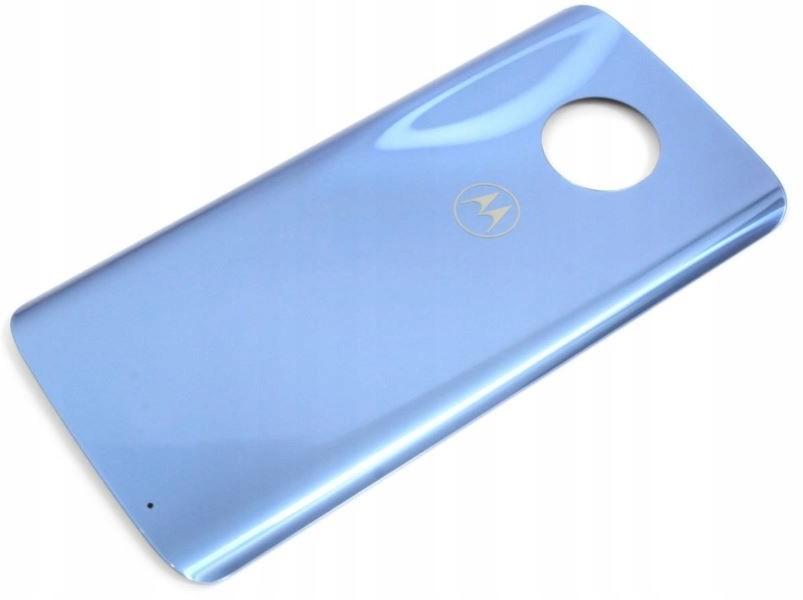 Motorola Klapka baterii do Moto G6 Plus Blue