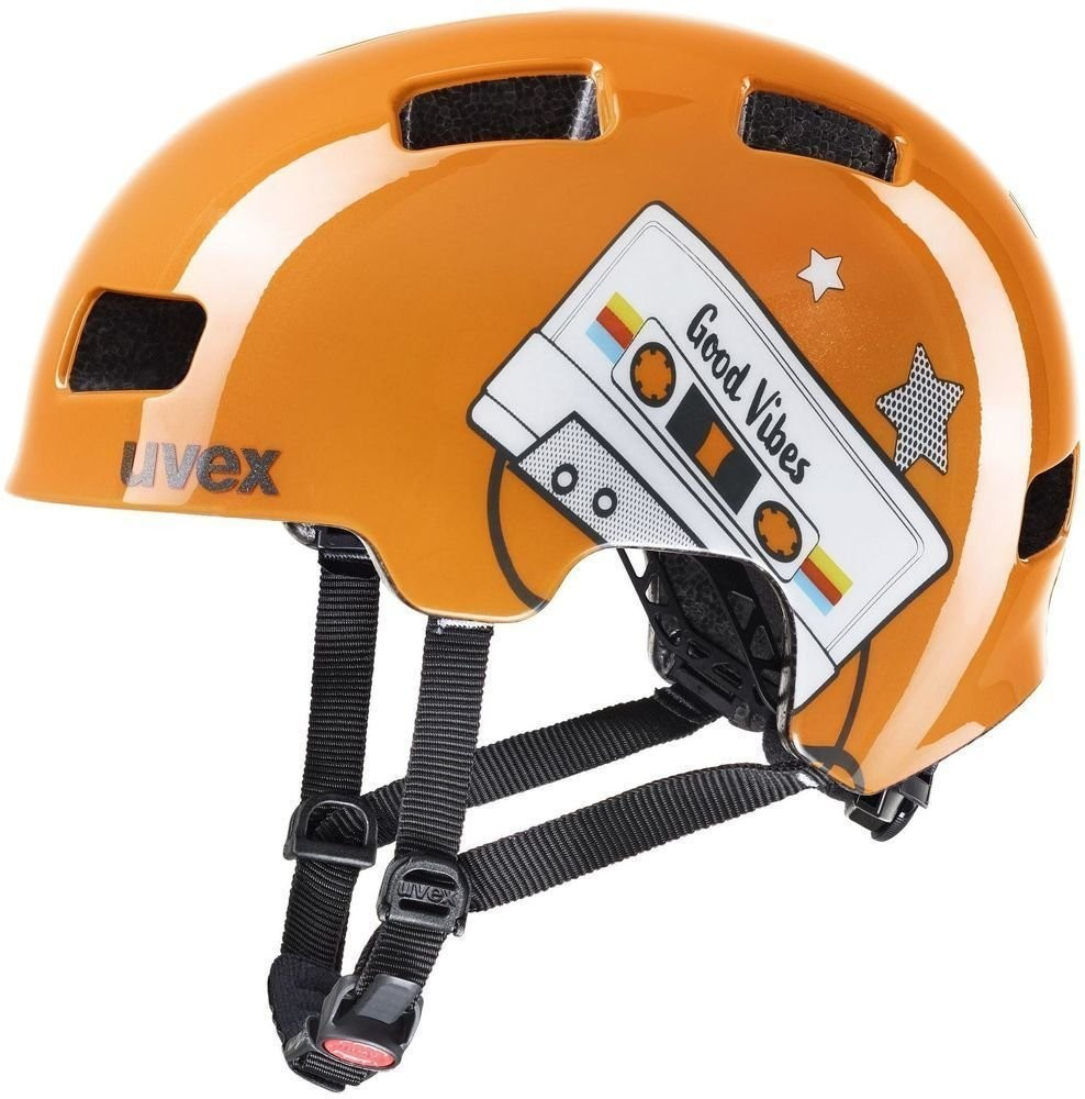 UVEX HLMT 4 Orange Tape 51-55