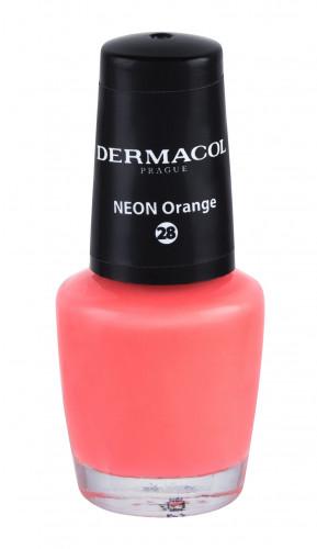 Dermacol Neon lakier do paznokci 5 ml 28 Neon Orange