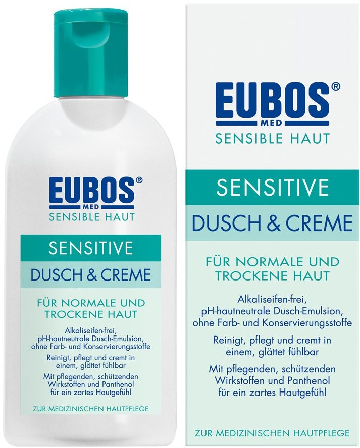 Dr.Hobein (Nachf.) GmbH Eubos Sensitive żel pod prysznic 200 ml