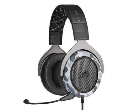 Corsair HS60 HAPTIC Stereo Headset (CA-9011225-EU) szare