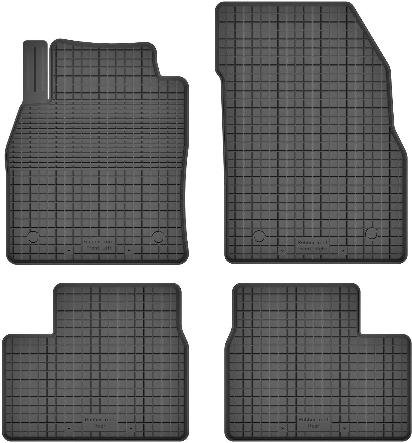 MotoHobby Opel Insignia (od 2008) -dywaniki gumowe korytkowe