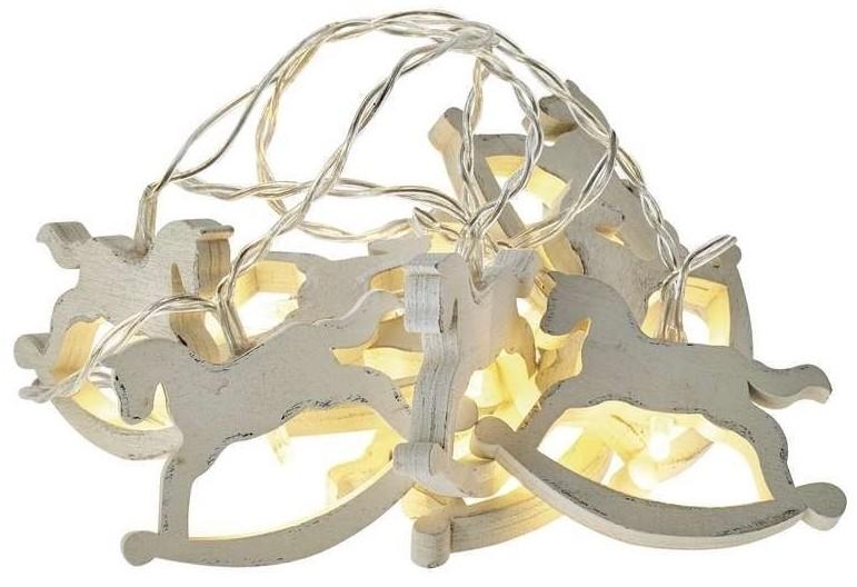 Emos LED Łańcuch świąteczny 10xLED/0,6W/2xAA