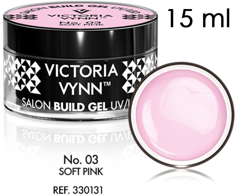 Victoria Vynn SALON BUILD GEL - Żel budujący Victoria Vynn - Soft Pink No. 03 - 15ml 330131-victoria-vynn