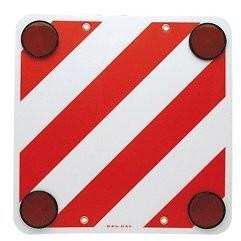 Bottari Znak ostrzegawczy do przyczep kempingowych Czerwony/biały z reflektorem 28050