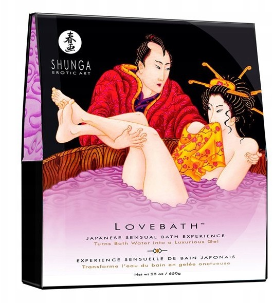 Żel do kąpieli Shunga Lovebath Sensual Lotos