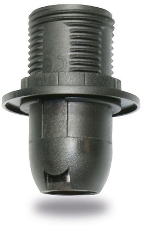 INQ Oprawka z kołnierzem INQ OP080, E14, czarna