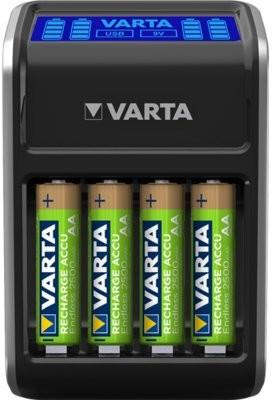 Varta Ładowarka LCD Plug Charger+ do akumulatorów AA,AAA,9V