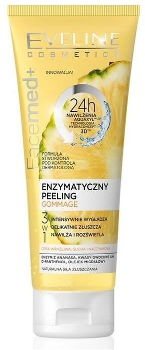 Eveline Facemed+ peeling enzymatyczny 3w1 Gommage 50ml