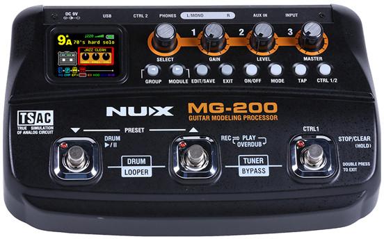 NUX NUX MG-200 - Multiefekt gitarowy