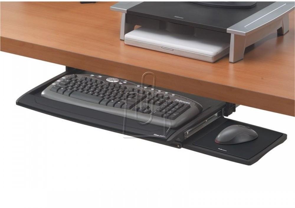 Fellowes Szuflada na klawiaturę Deluxe Office Suites czarna 8031201