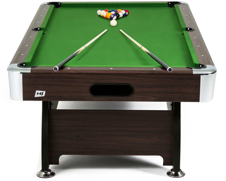 Hop-sport Stół bilardowy spływowy 7 ft brązowy 47048