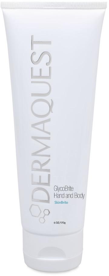 Dermaquest DERMAQUEST SkinBrite GlycoBrite Hand and Body rozjaśniająco - przeciwstarzeniowy krem do rąk i ciała 177 ml