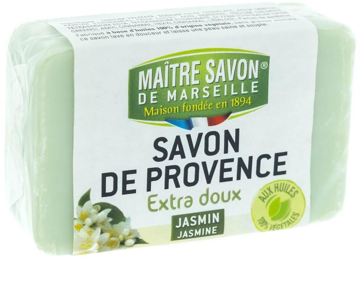 Maitre Savon De Marseille Mydło marsylskie jaśmin 100 g - Maître Savon