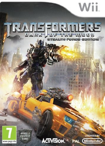 Nintendo [UK-Import] Transformers Dark of the Moon Stealth Force Edition Game + Toy car Wii 68460