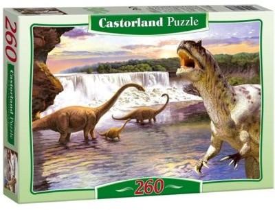Castorland Puzzle 260 Dinozaury w wodzie CASTOR