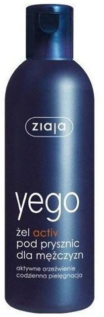 Ziaja Yego Activ Żel pod prysznic dla mężczyzn 300ml 1234580721