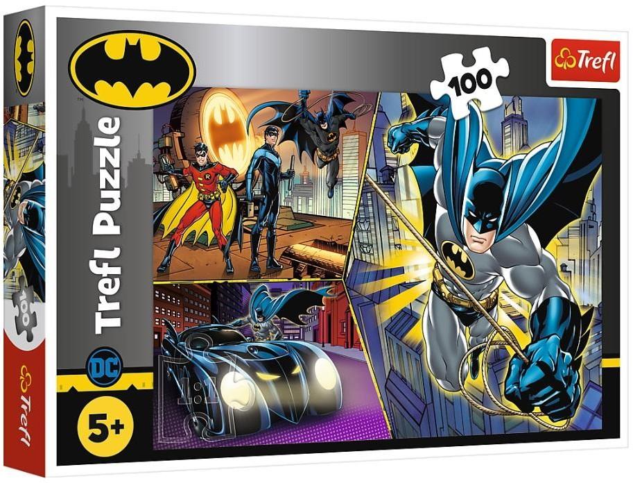 Trefl Puzzle 100 Nieustraszony Batman