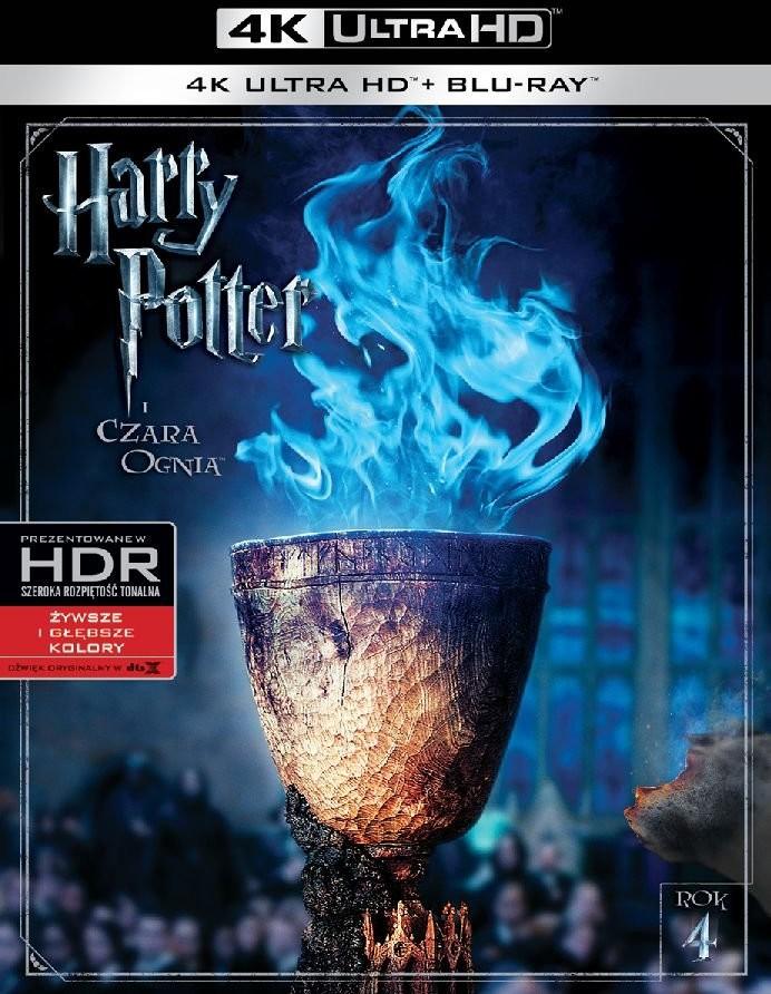 Warner Bros Entertainment Harry Potter i Czara Ognia 4K