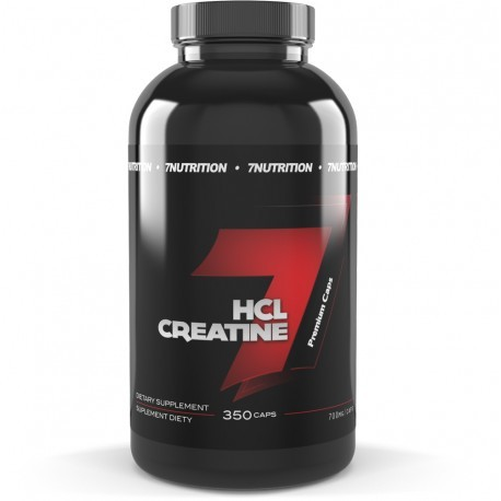 7 Nutrition Hcl Creatine 350 caps (3504-548FD)