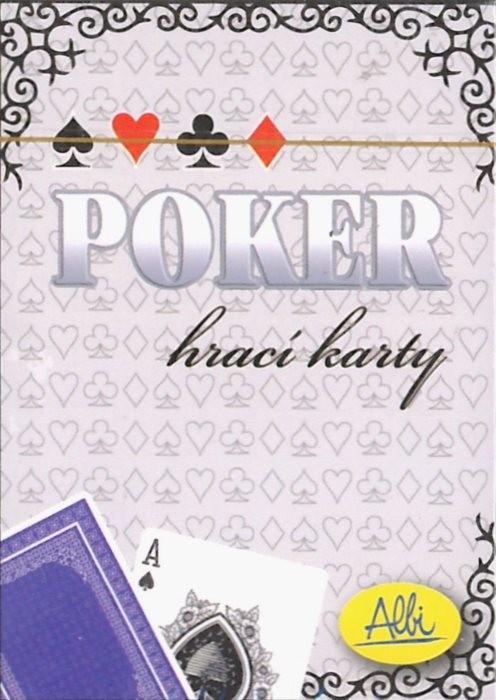 Albi Karty do Pokera niebieskie