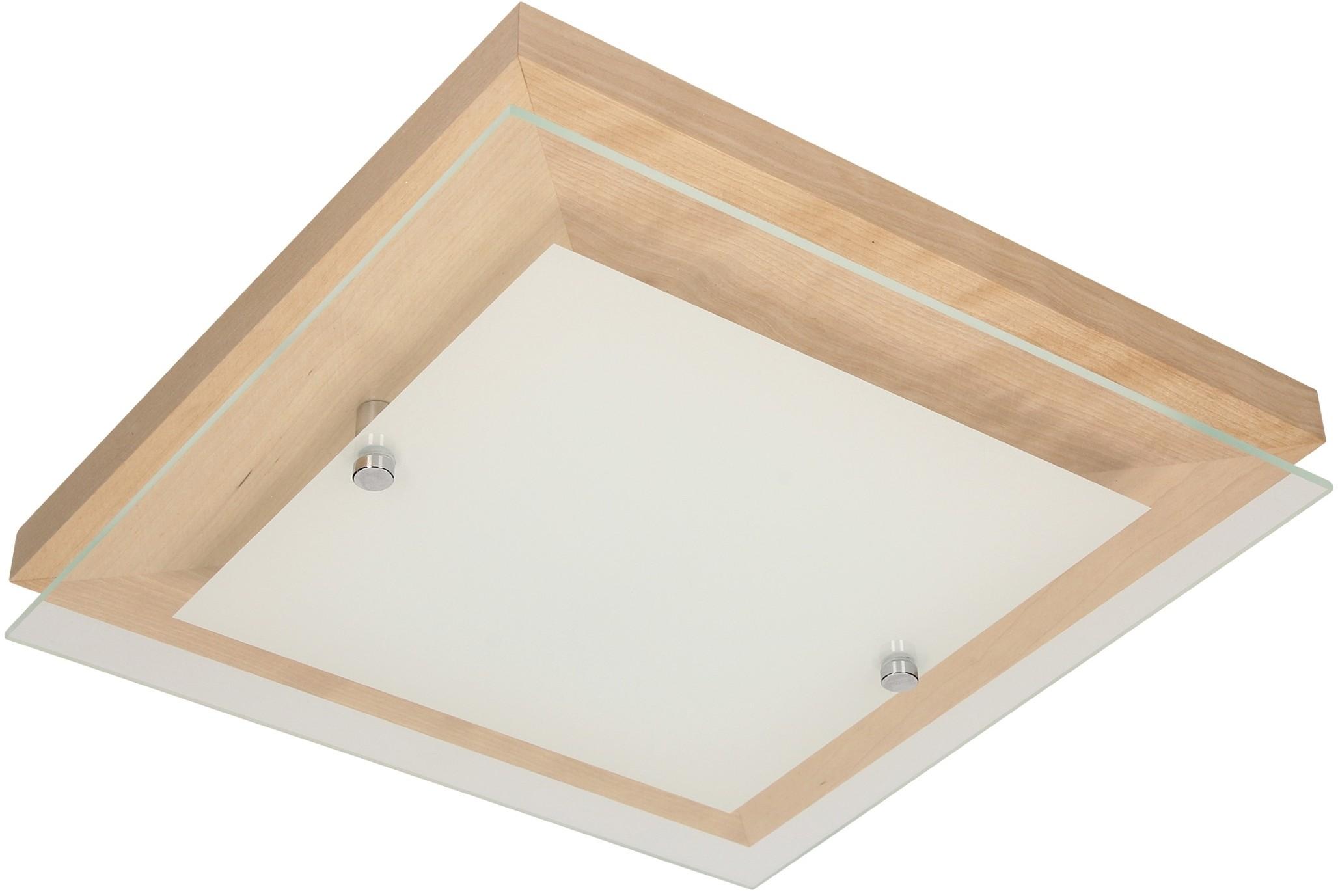 Spotlight FINN plafon LED 14W z funkcją ściemniania dąb 4122970