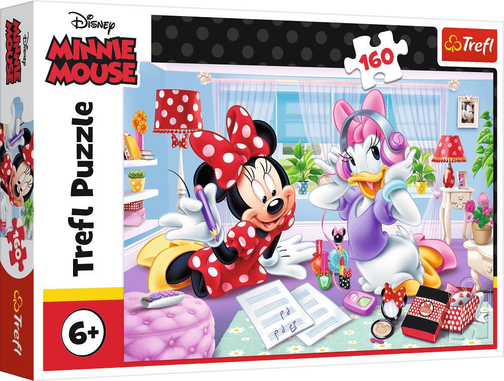 Trefl Puzzle 160el Dzień z przyjaciółką Disney Minnie 15373
