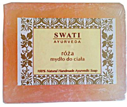 Swati Naturalne mydełko różane do ciała Swati 100g
