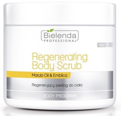 Bielenda Professional Regenerujący peeling do ciała - Professional Body Program Resenerating Body Scrub Regenerujący peeling do ciała - Professional Body Program Resenerating Body Scrub