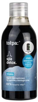 Tołpa spa detox, relaks Kąpiel borowinowa do odnowy biologicznej 300ml