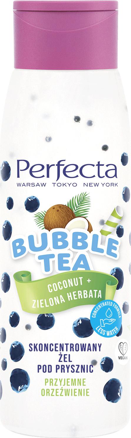 Perfecta Perfecta Bubble Tea skoncentrowany żel pod prysznic Coconut + Zielona Herbata 010214754