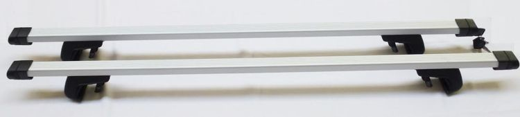 Aguri Bagażnik na relingi klasyczne AERO BASIC ALU 120 cm JAC50099
