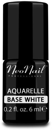 Neonail Aquarelle Lakier 5485-1 Base White Baza do lakieru hybrydowego 1234594498