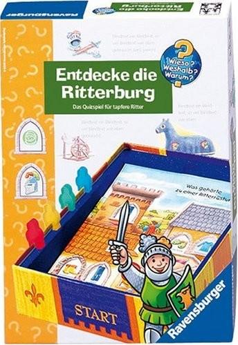 Ravensburger 24166 dlaczego? Dlaczego? Dlaczego?: Entdecke die Ritterburg